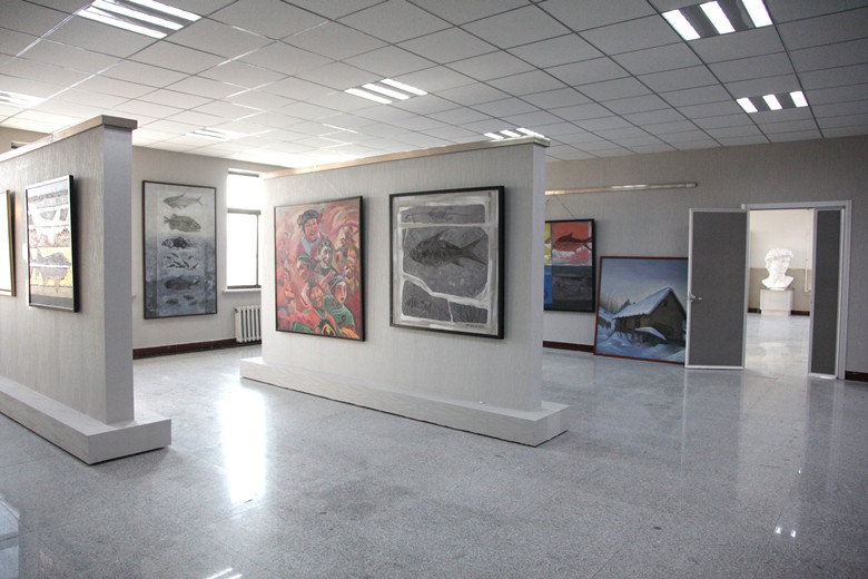 艺术设计专业学生作品展厅