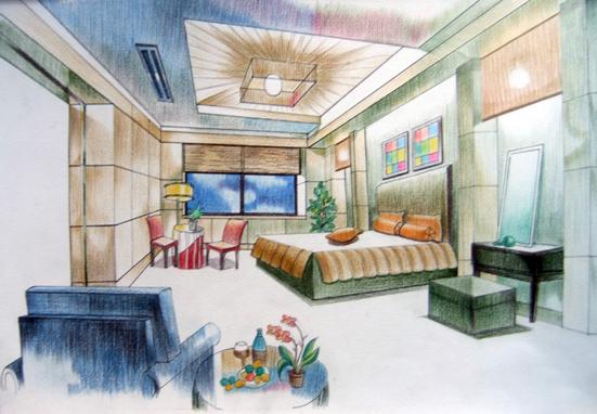 建筑手绘技法课堂作业展示(一)